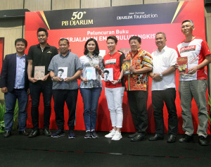 50th PB Djarum, Luncurkan 4 Buku