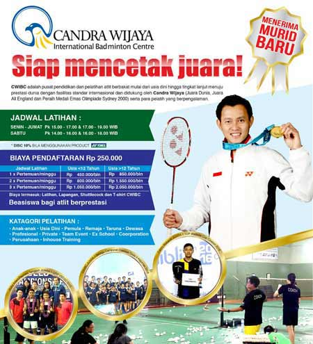 Candra Wijaya International Badminton Centre (CWIBC)